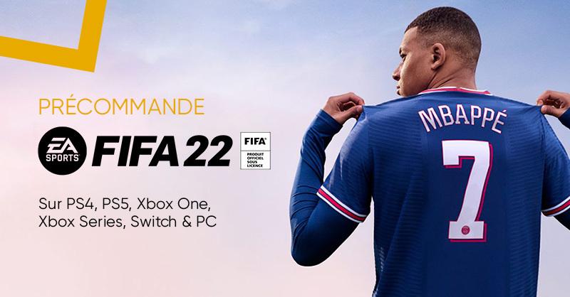 GAMING 🎮 | Vos plus beaux matchs. ⚽ FIFA22 est toujours disponible en précommande à la Fnac 😮👉 https://t.co/CetQR8wpw8 https://t.co/Dpdx676PFA