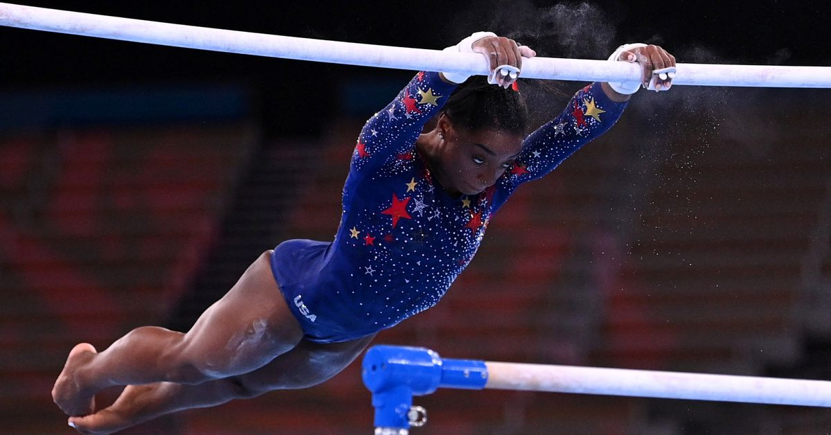 Biles fails to qualify for bars at Tokyo Games