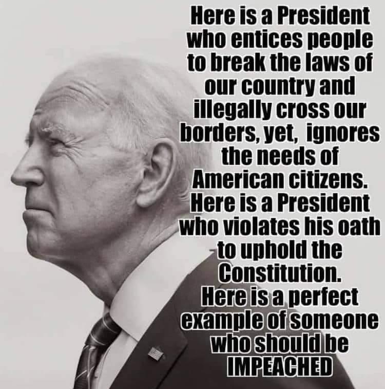 #FuckJoeBiden #IMPEACHBIDENNOW  #ImpeachBiden  #BidenHatesAmerica #BidenHatesFreedom #BidenSucks #ImpeachBidenHarris https://t.co/3uyxFBSQ5X