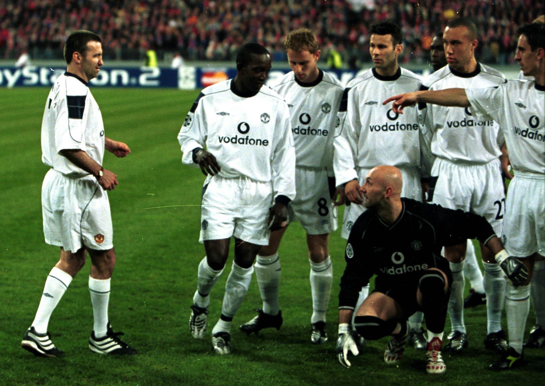 في عام 2001، أثناء مباراة بين...