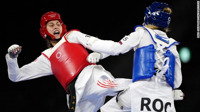 Anastasija Zolotic is the first American woman to win Olympic gold in