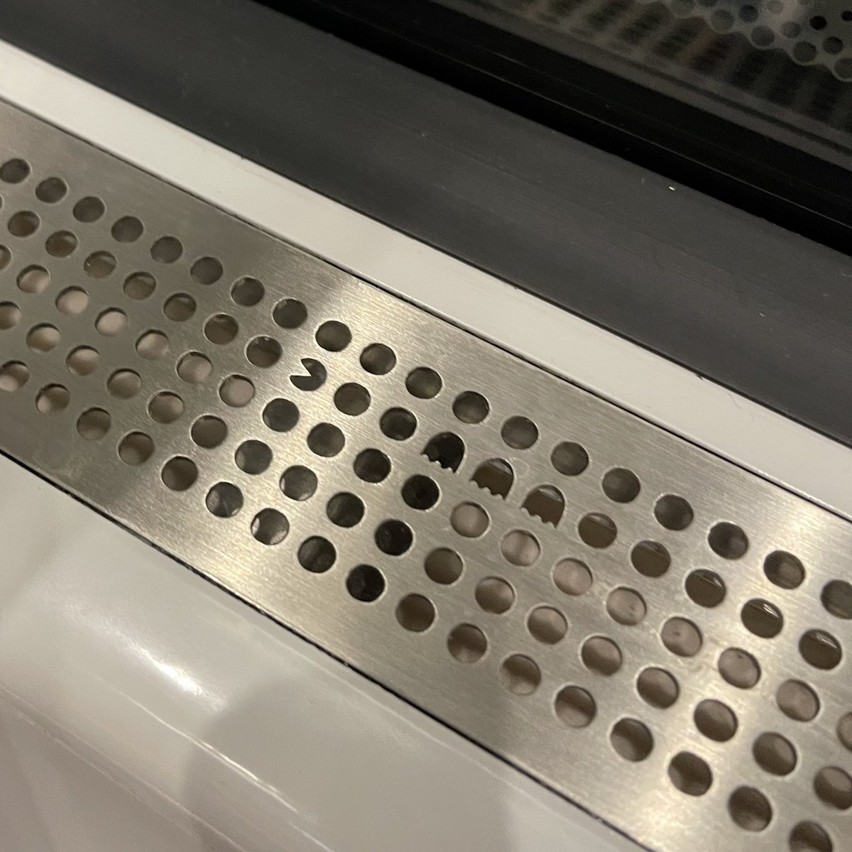 Cute Easter egg in the new subway train in Stockholm https://t.co/KZzOL6QuIV