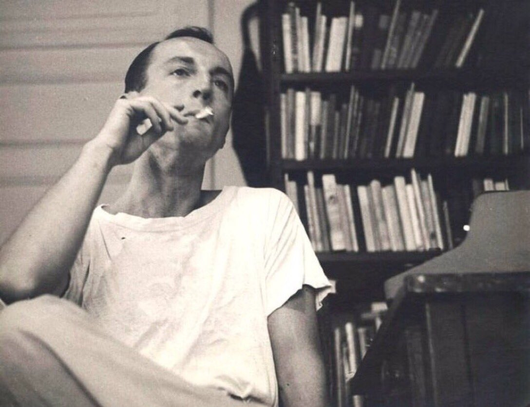 '… oh god it's wonderful to get out of bed and drink too much coffee and smoke too many cigarettes and love you so much…' -   Frank O'Hara (1926-1966) Steps: in Lunch Poems, 1964 https://t.co/HPhLxjmZZG