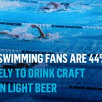 Image for the Tweet beginning: People who watch #swimming during