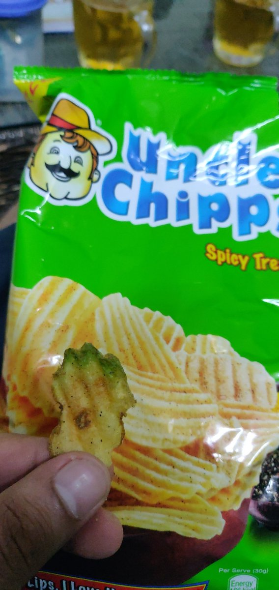 Use this low quality now seriously. Ever heard of solanine ???  @PepsiCo  #badquality #potato #health #indiawantstoknow #unclechips https://t.co/oACdhTmbxw