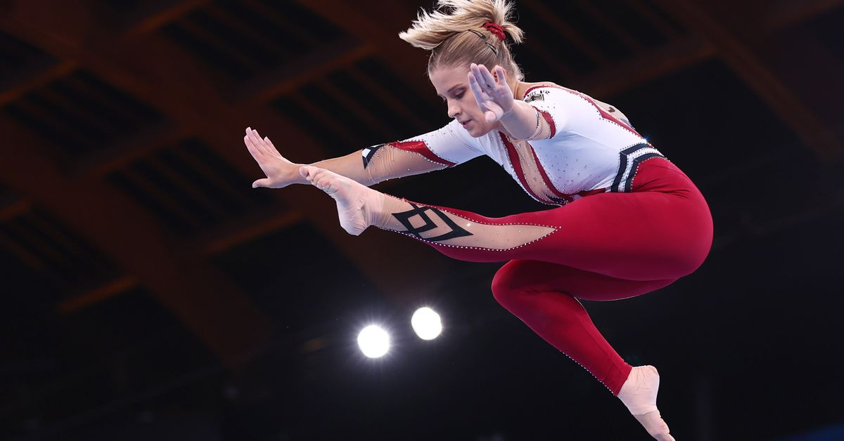 Gymnastics-Germans opt for full-body suits to promote freedom of choice