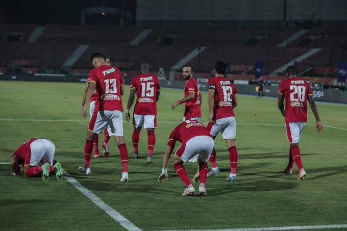 أبرز لقطات شوط المباراة الأول بين الأهلي
