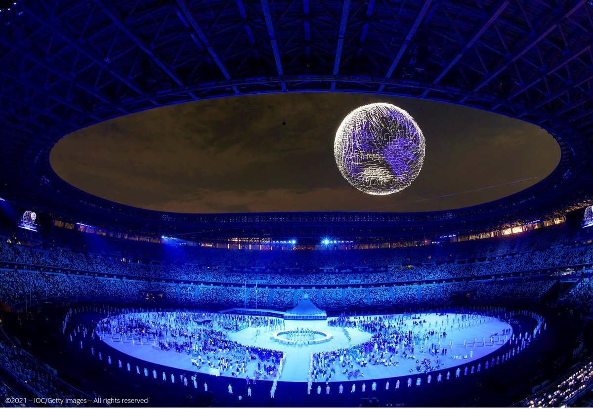 Such a beautiful moment🌍 #Tokyo2020