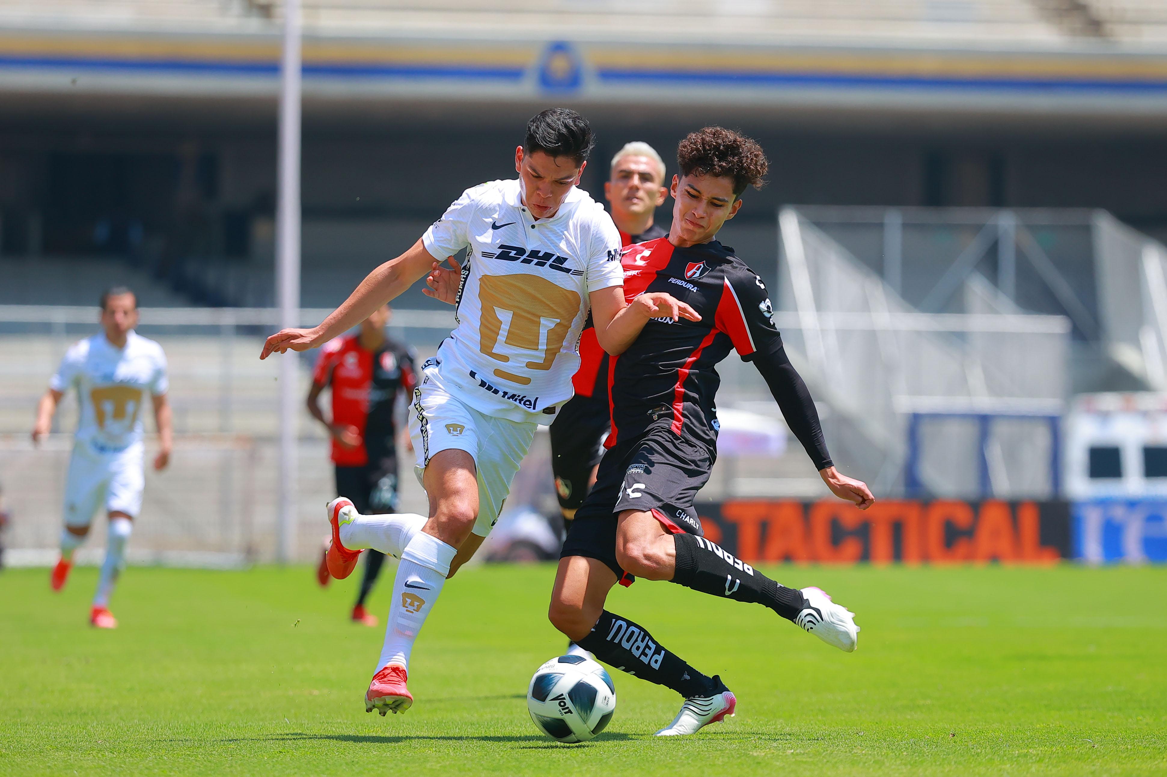 Pumas vs Atlas 0-0 Torneo Apertura 2021