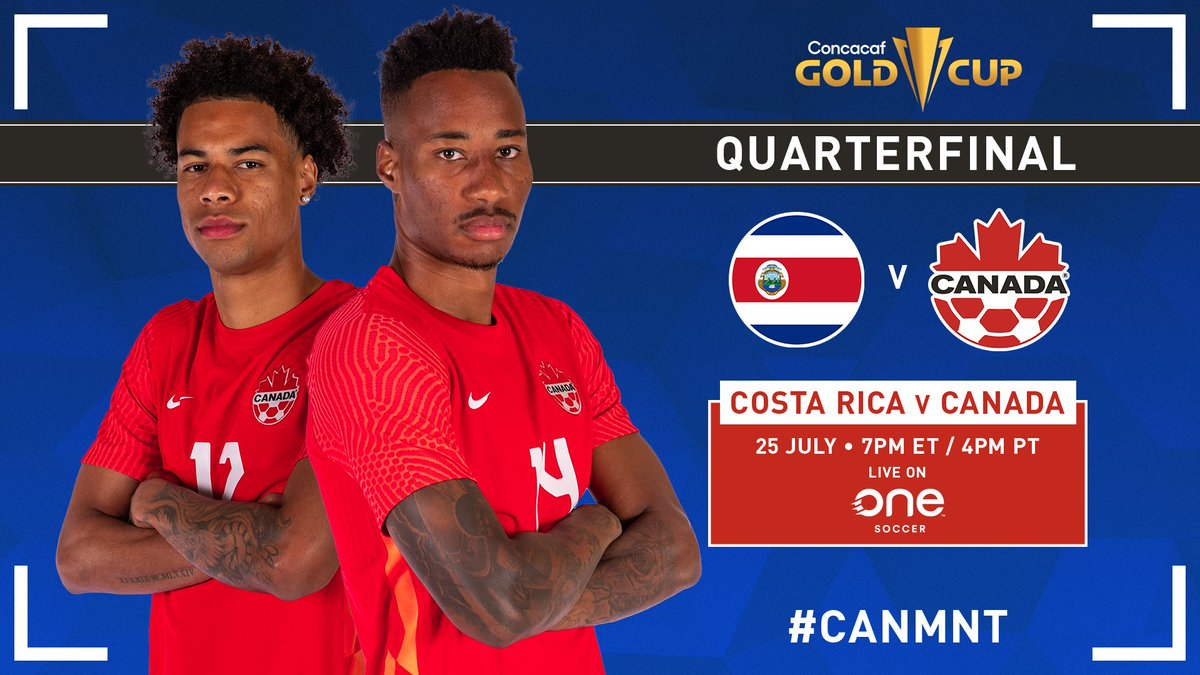 Costa Rica vs Canada Highlights 26 July 2021