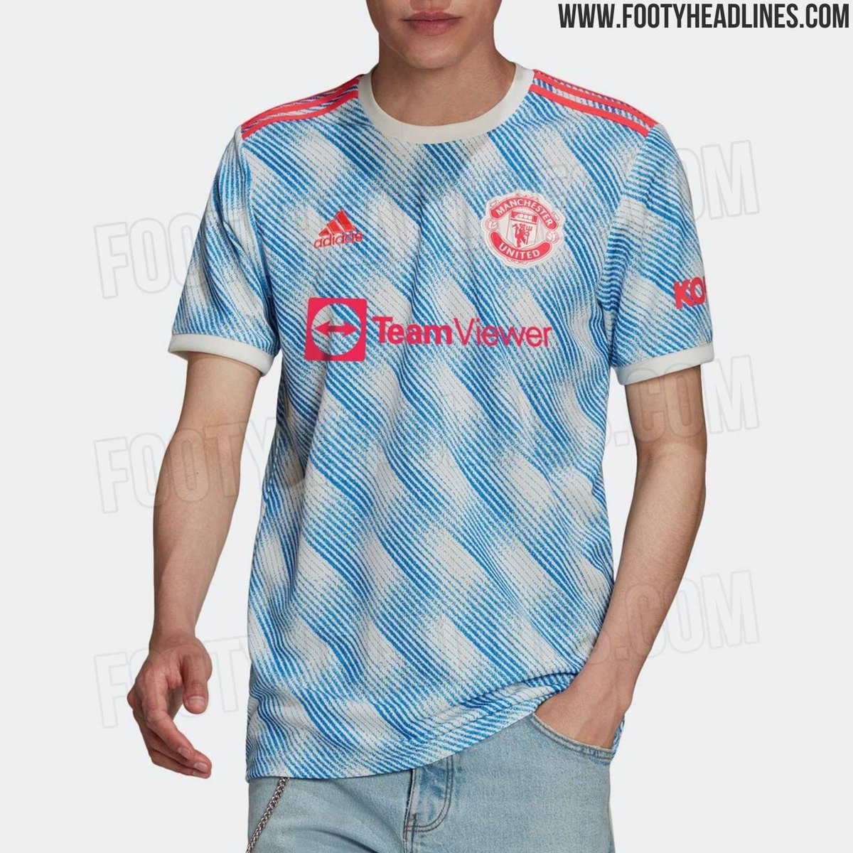 More leaked pictures of Manchester United's 2021-22 away shirt 👇 #mufc #mujournal   📸 @Footy_Headlines https://t.co/jFrY9b2oF1