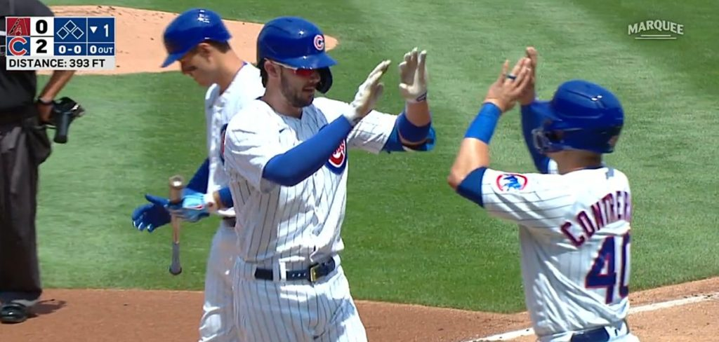 Kris Bryant and Anthony Rizzo Go Back-to-Back! (VIDEOS) - https://t.co/l1EpCabRyE https://t.co/fA4fRoqBFV