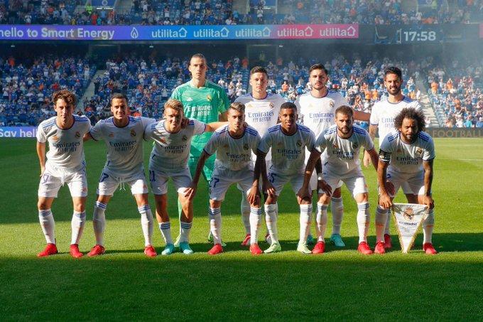 الفريق الذي بدأ مباراة اليوم.