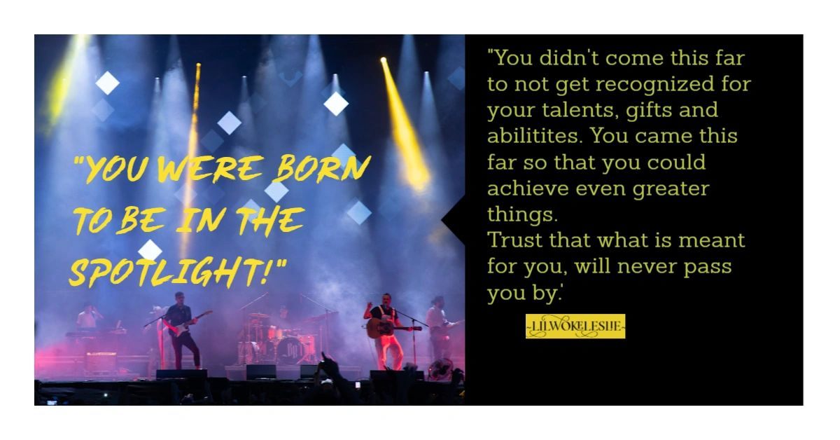 """""""You were born to be in the spotlight!"""" #Success #Achievement #Recognition #Rewards #Star #Empower #Inspire #Motivate https://t.co/0g5Q38nfkK"""