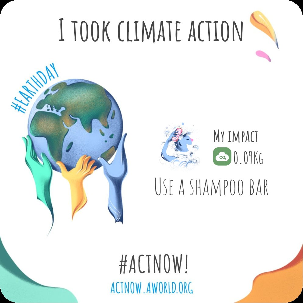 I took climate action https://t.co/js19NBevGD #actnow https://t.co/zzPx1wPaoZ
