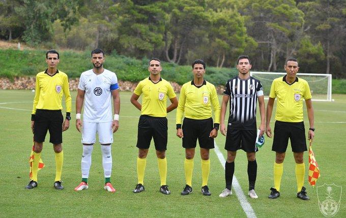 صور من المباراة  ١  vs  الصفاقسي التونسي ٠