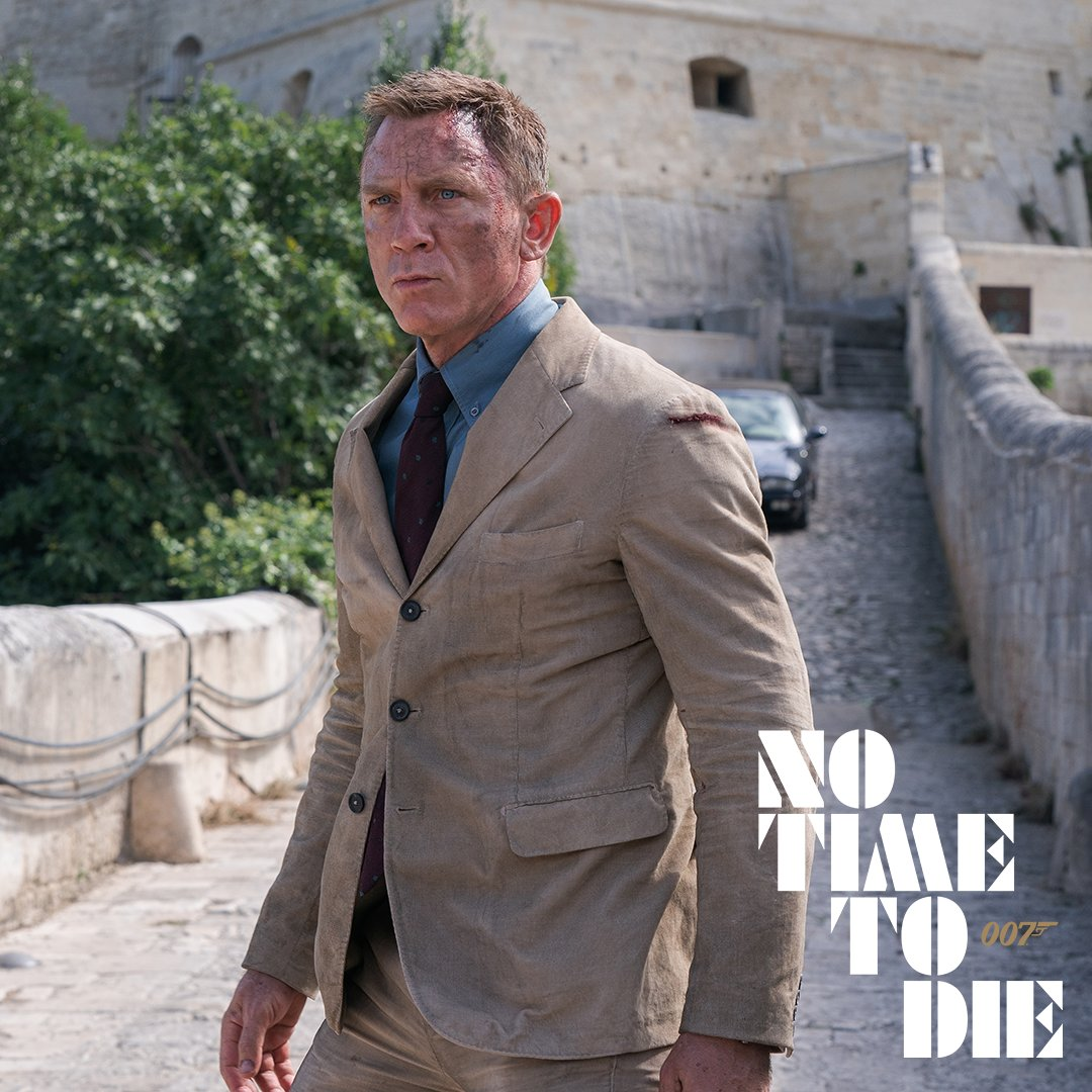 He'd bloody better be. It's been far too long. #NoTimeToDie