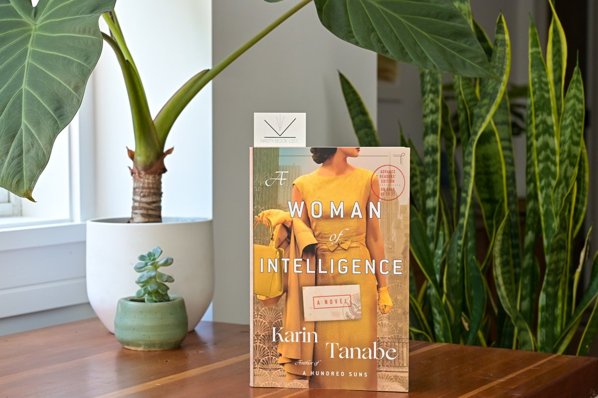 My interview with @karintanabe, hosted by @SLCL and @HEC_TV aired last week. Read all about her latest novel, A WOMAN OF INTELLIGENCE and watch our interview, here: https://t.co/tao5XKb19F   @StMartinsPress #amreading #alwaysreading #historicalfiction #histfic https://t.co/qIWfJxCsEe