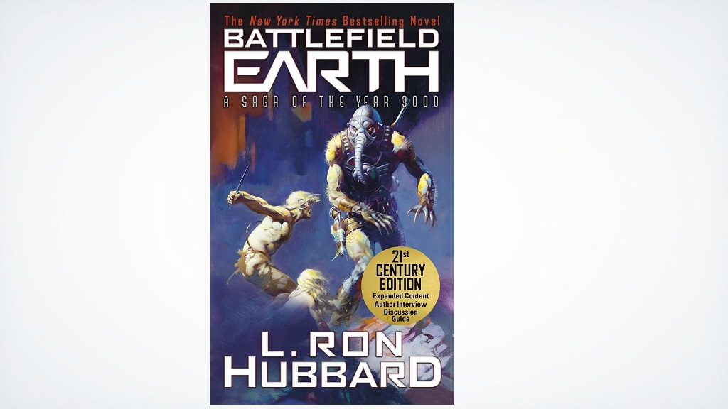 """#mustread #scifi: Battlefield Earth is """"Pulse-pounding mile-a-minute sci-fi action adventure that does not stop."""" — Brandon Sanderson https://t.co/IXgBVQfKdx  #readers #amreading @BE_the_Book https://t.co/0Abro9xKtN"""