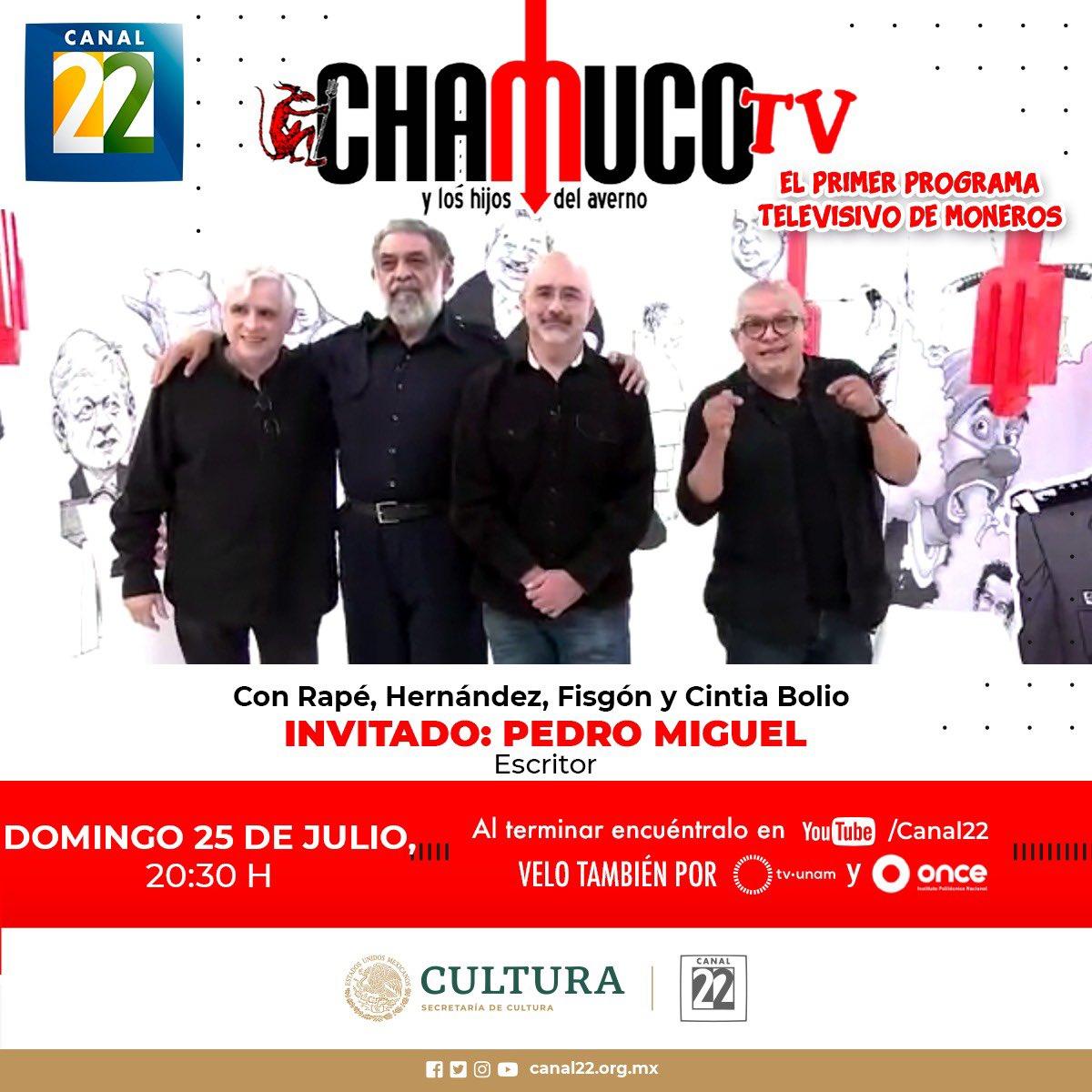 ¡Pónganle en el 22! #ChamucoTV https://t.co/ARhS5golei