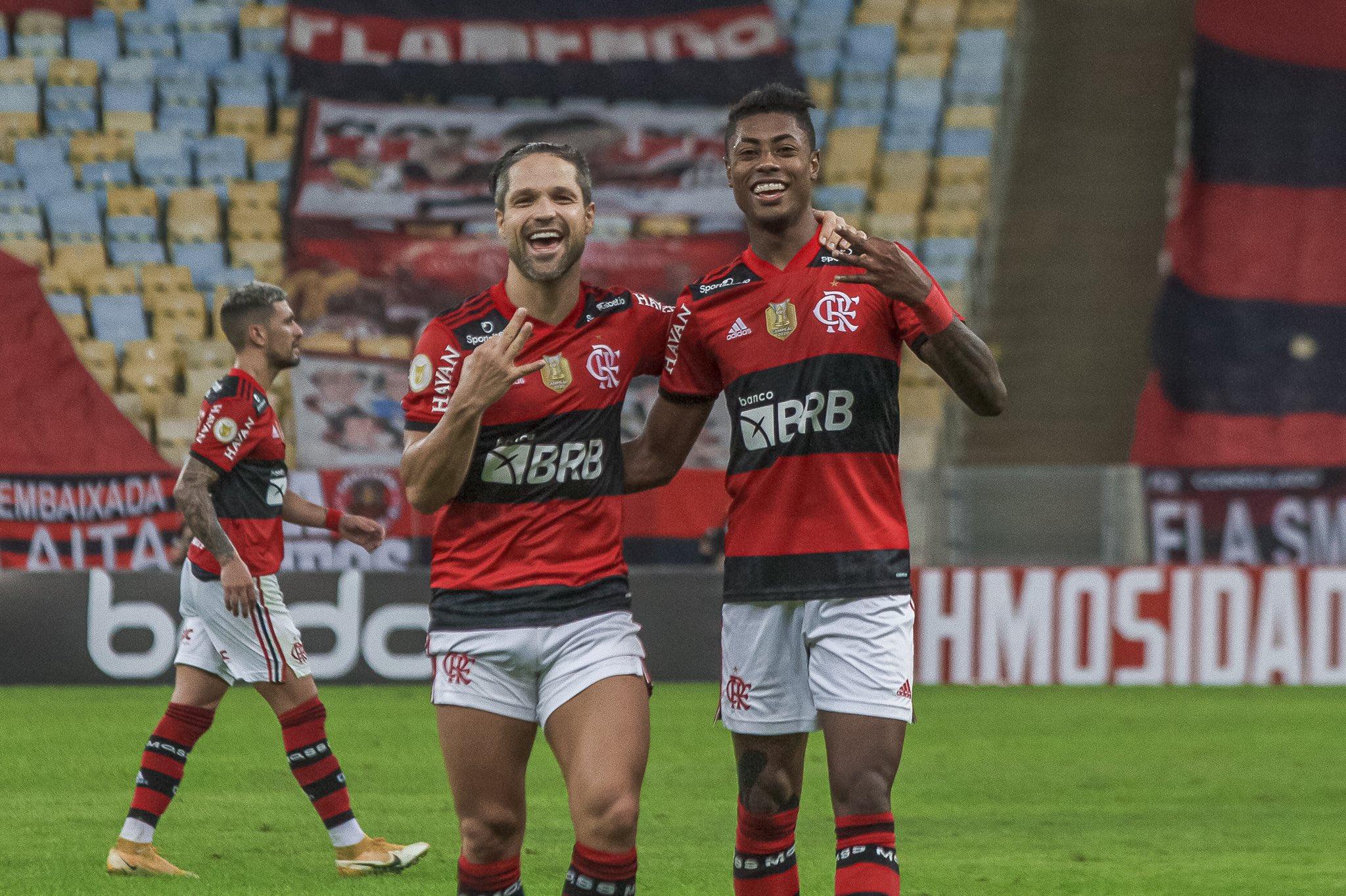 Protagonista contra o São Paulo, Bruno Henrique vibra: Nunca deixei de acreditar em mim