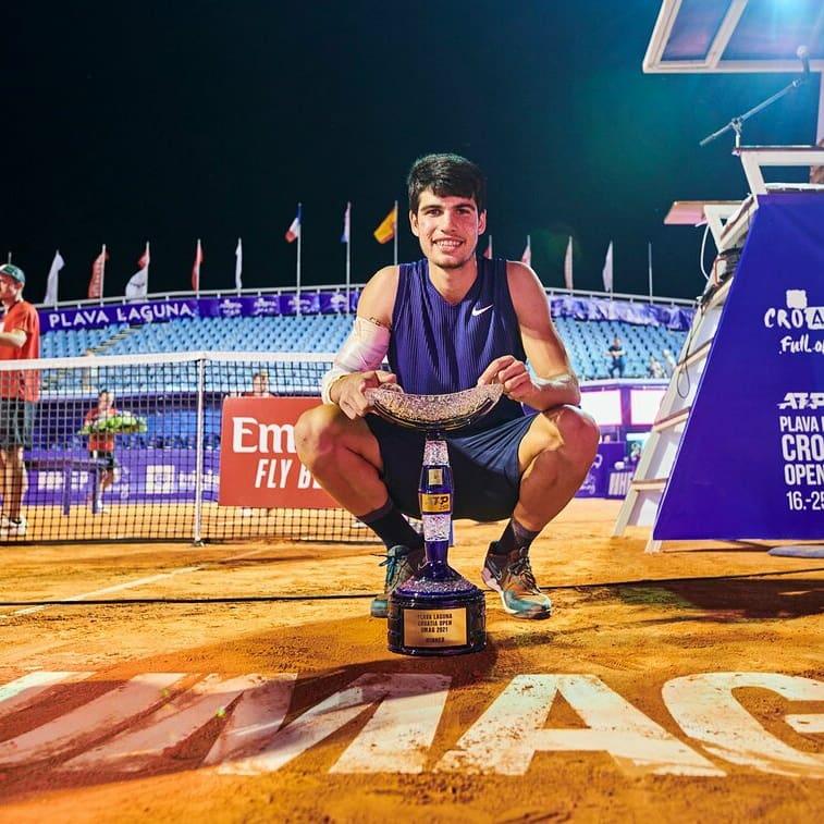 Un sueño hecho realidad✅ 1 torneo ATP✅ @CroatiaOpenUmag Gracias a todos por el apoyo, nos vemos el año que viene Umag🚀❤️A dream come true✅  1 ATP✅ tournament   Thank you all for the support, see you next year Umag🚀❤️