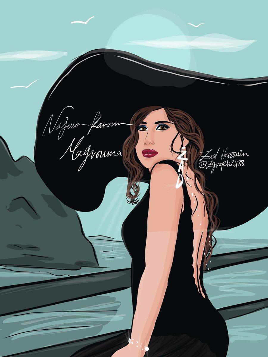 The queen @najwakaram back with a new #masterpiece @NajwaKaramFC #Lebanon #NajwaKaram2021 #artist #france  #adobeillustratordraw #digitalart #illustrateur #dessindigital #نجوى_كرم #adobeillustrator #adobeflash #Adobe #casablanca @AdobeDrawing #illustrations #art #artistsontwitter https://t.co/Sl1wuoMBTy