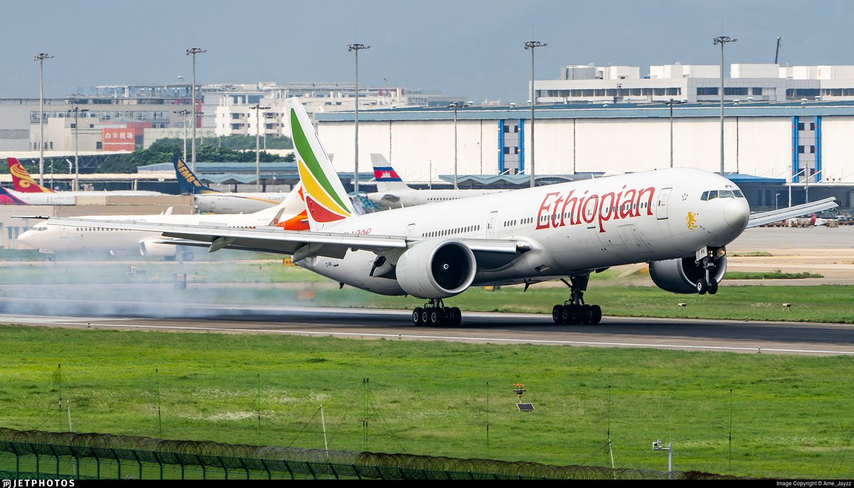 test Twitter Media - An Ethiopian Airlines 777 landing in Guangzhou. https://t.co/bTSQUR7lqk © Ame_Jayzz https://t.co/mKdsmCIQjM