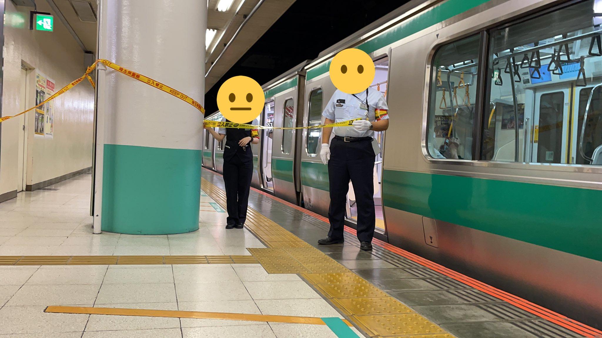 大宮駅で不審物発見によりホーム封鎖 埼京線一時運転見合わせ