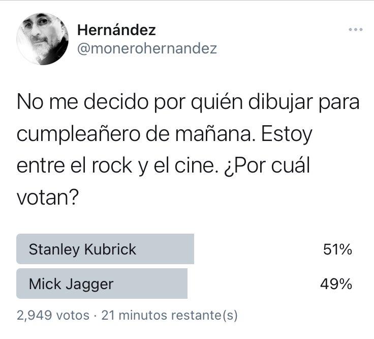 Oh my dog! ¡Mick Jagger está alcanzando a Stanley Kubrick! https://t.co/DJjRpsZHqz