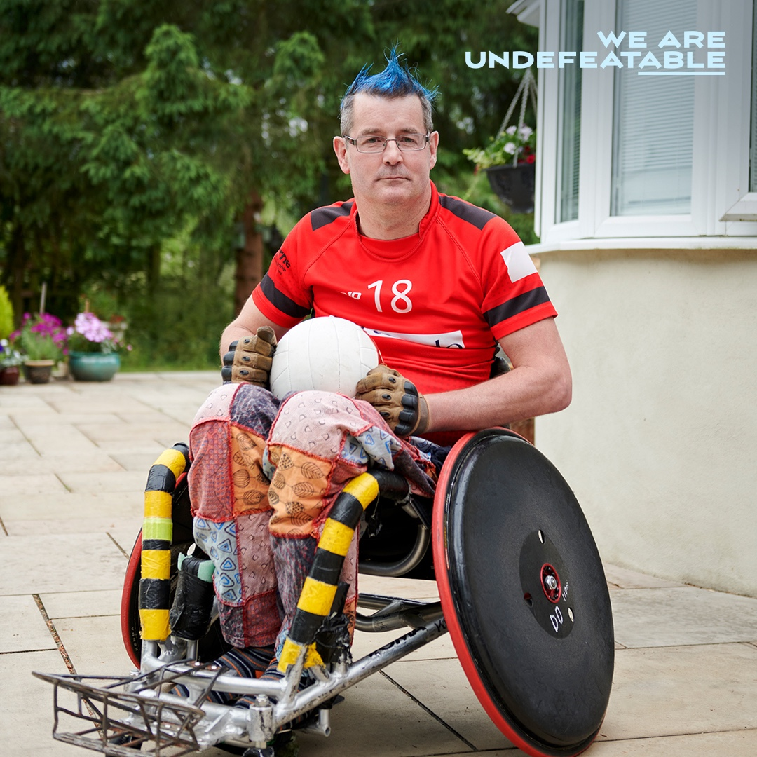 The #WeAreUndefeatable campaign is back on TV!  The campaign aims to inspire people living with a range of health conditions to find ways to get active that work for them, sharing that even a little bit goes a long way when it comes to being active.   https://t.co/5hqWTARcRv