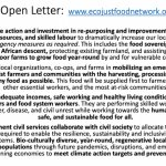 Image for the Tweet beginning: 🔴Happening now: #FoodSystems4People - @CSM4CFS