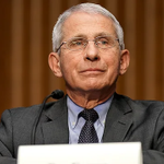 Image for the Tweet beginning: Fauci says COVID-19 is now