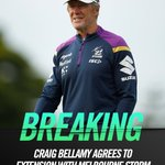 Looks like those notorious pre-seasons are here to stay..The @storm have locked in Craig Bellamy for the next five years👉 https://t.co/WmEq8aHFYp