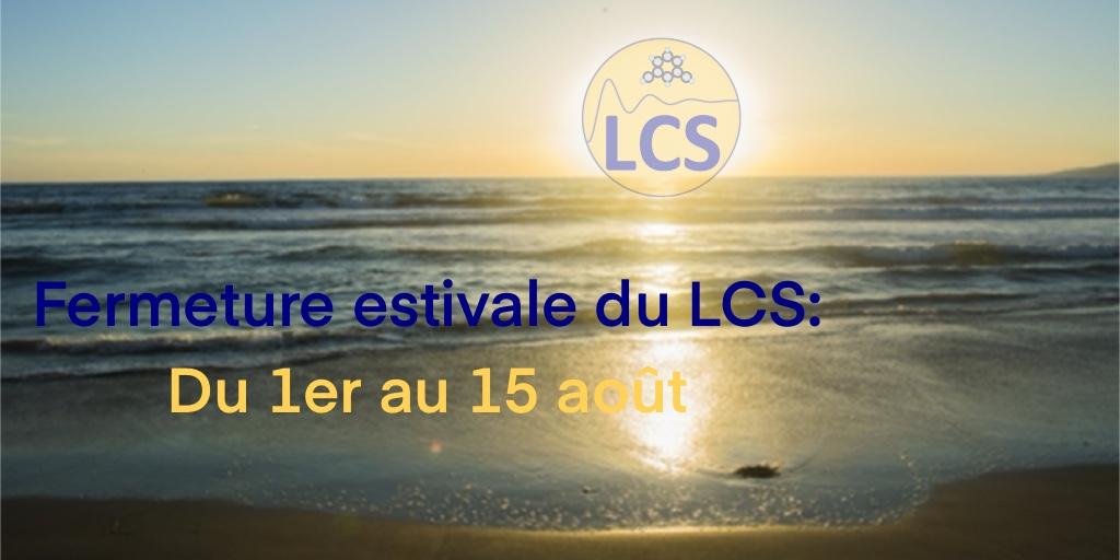 🌞Le compte Twitter du LCS pend ses quartiers d'été. Rendez-vous le 30 Aout pour de nouvelles publications ! Bonnes vacances à tous 🌴🏖️ @ENSICAEN @Reseau_Carnot @Carnot_ESP @CNRS_Normandie @INC_CNRS @CNRS @Universite_Caen @normandieuniv