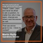 #careeradvice from our Operations Director, Martin Reilly and we think they are words to share with as many people as possible.#successmotivation #TeamTorsion