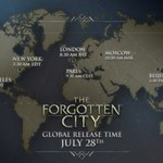Image for the Tweet beginning: The Forgotten City comes out