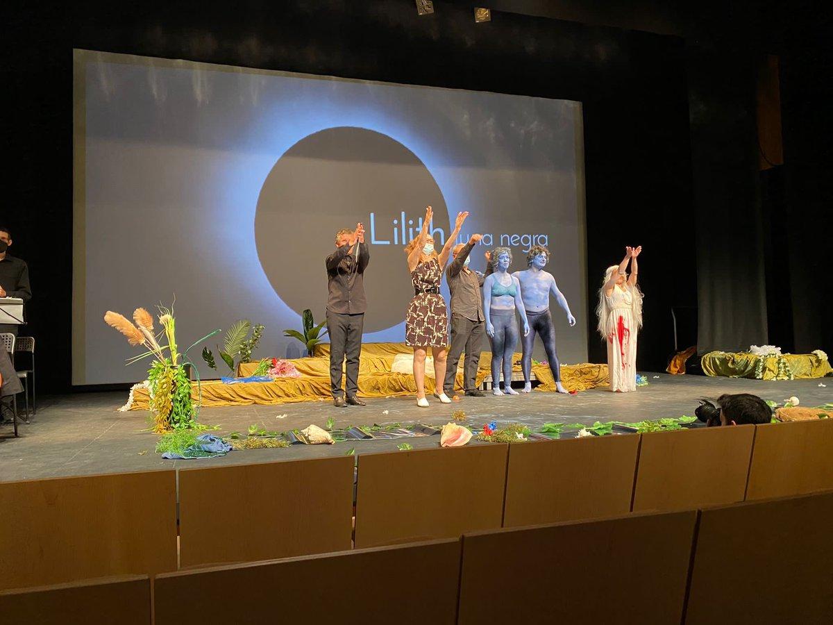 Feliz de haber llevado a buen puerto la ópera #Lilithlunanegra de David del Puerto y Mónica Maffía (@bardolatria)