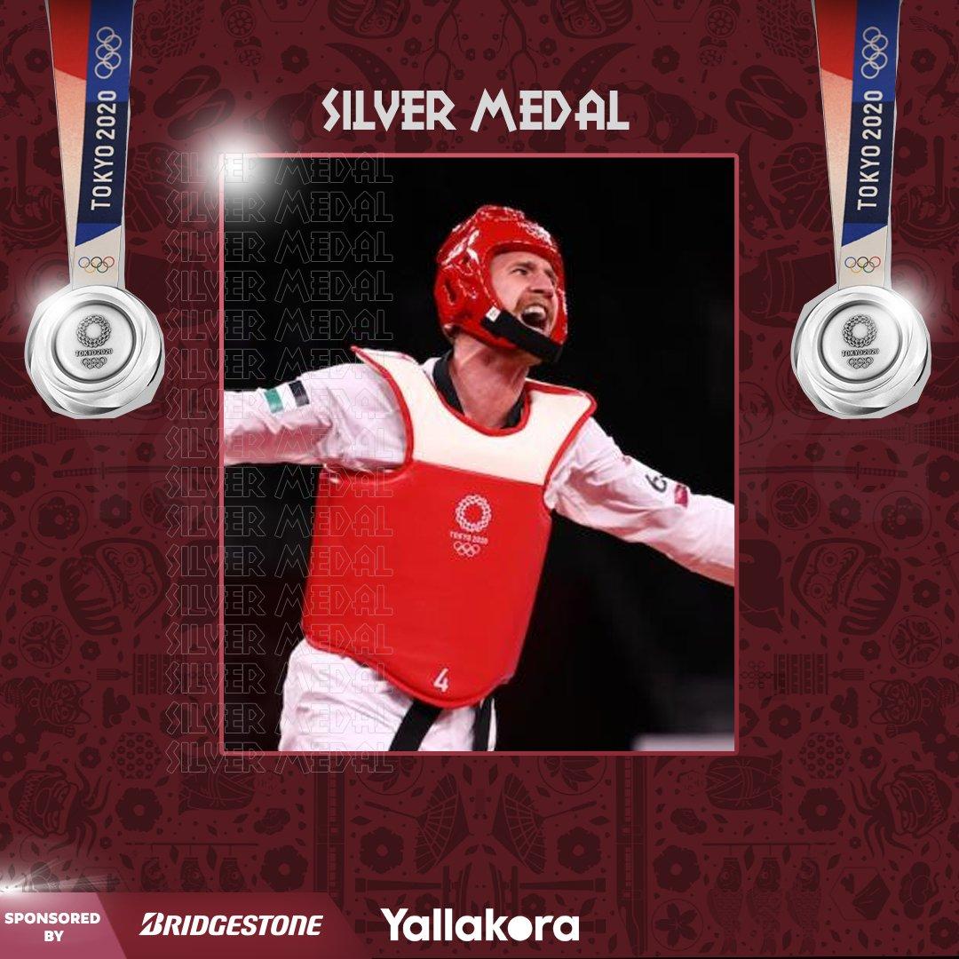 فضيـــــ🥈ــــــة<br /><br />الأردني صالح الشرباتي يحقق الميدالية الفضية في أولمبياد #طوكيو2020 🇯🇴