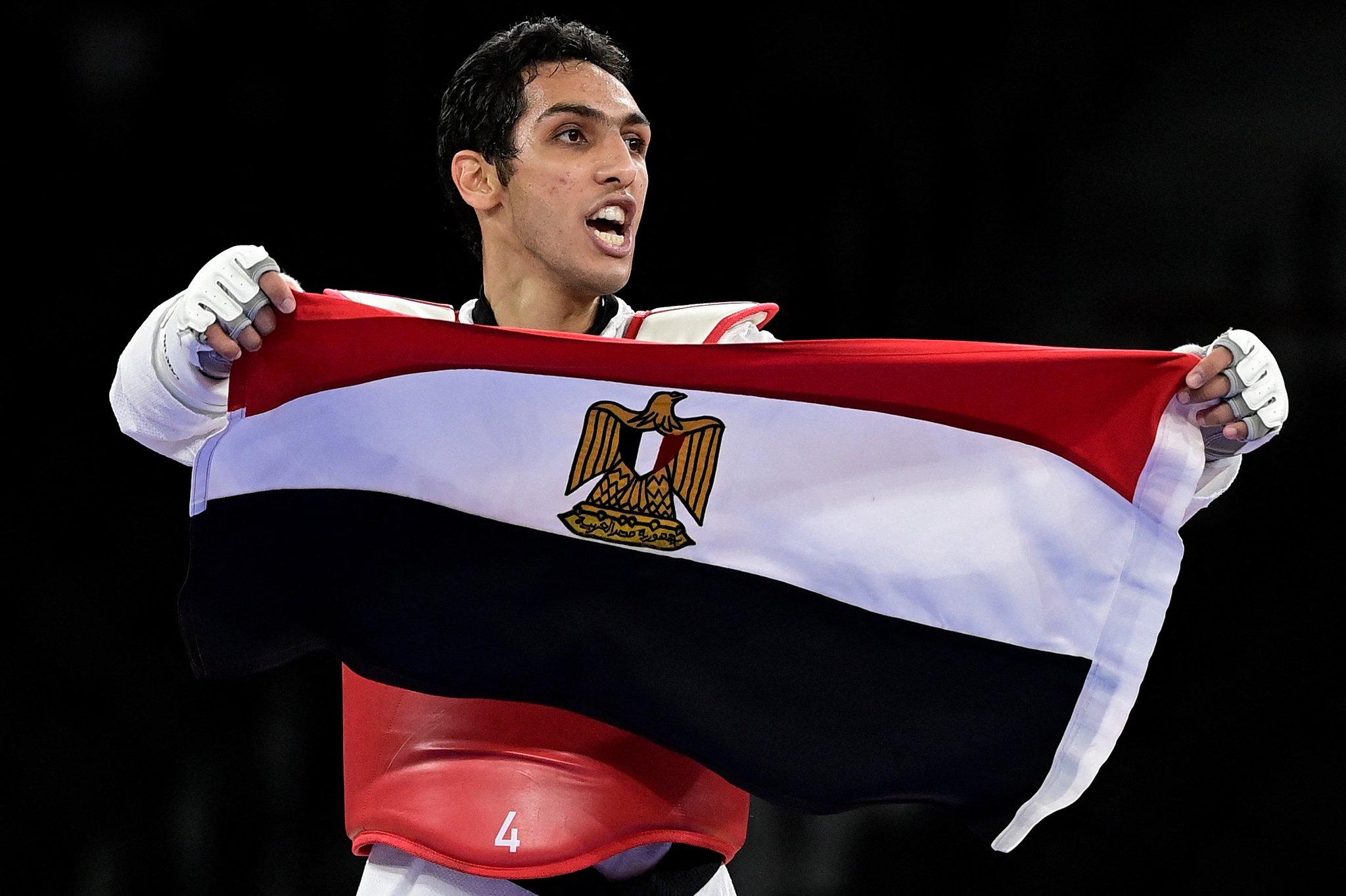 أولمبياد طوكيو - البطل المصري سيف عيسى المتوج ببرونزية التايكوندو