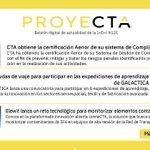 Image for the Tweet beginning: ✅ CTA obtiene una nueva