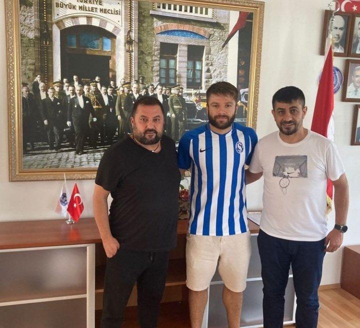 İbrahim Halil Öner Sarıyer ile sözleşme imzaladı