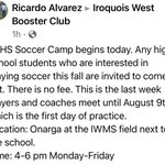 Image for the Tweet beginning: Soccer news! ⚽️ #iwhsraiders #iwraiders