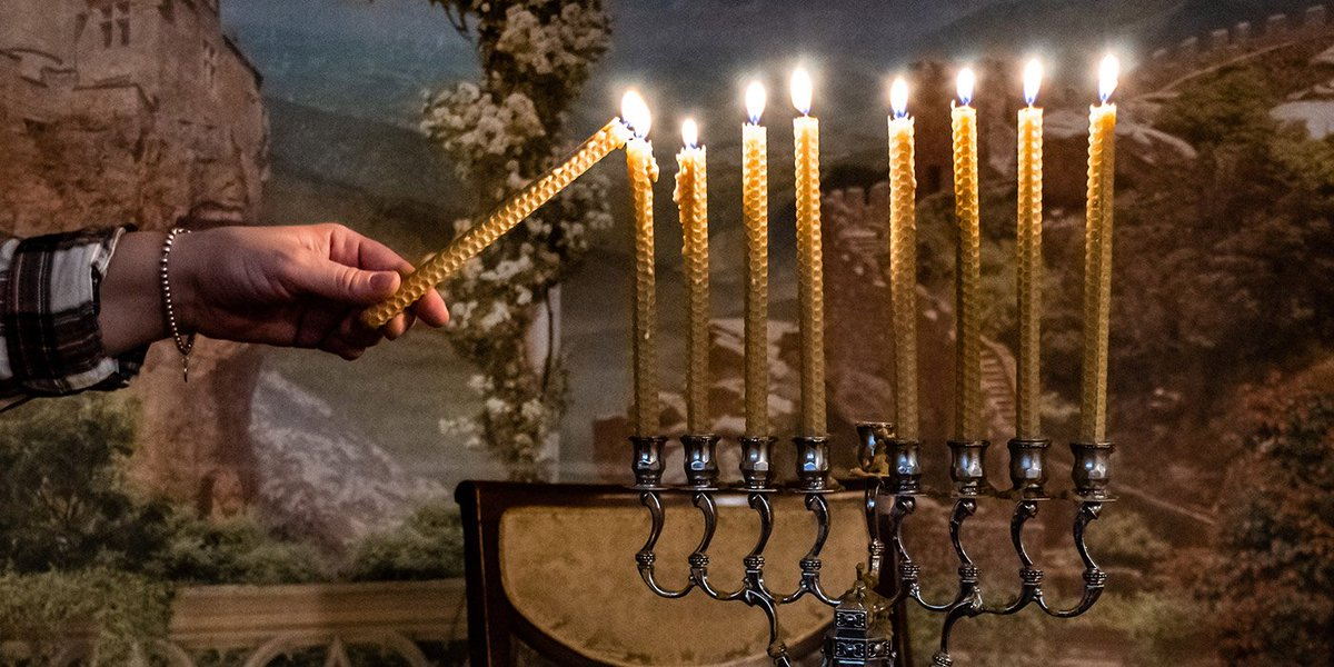 Have you ever wondered where to light Shabbat candles? Check out the blog at ElijahCandles.com🕯