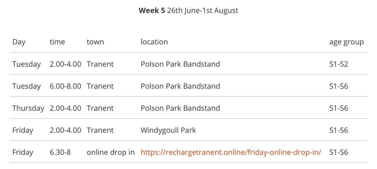test Twitter Media - We are back in Tranent with the pizza oven and activities at Polson Park on Tuesday and Thursday and Windygoull Park on Friday https://t.co/rRgYvMho13