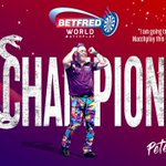 Image for the Tweet beginning: Питер Райт чемпион World Matchplay-2021!  Финал:
