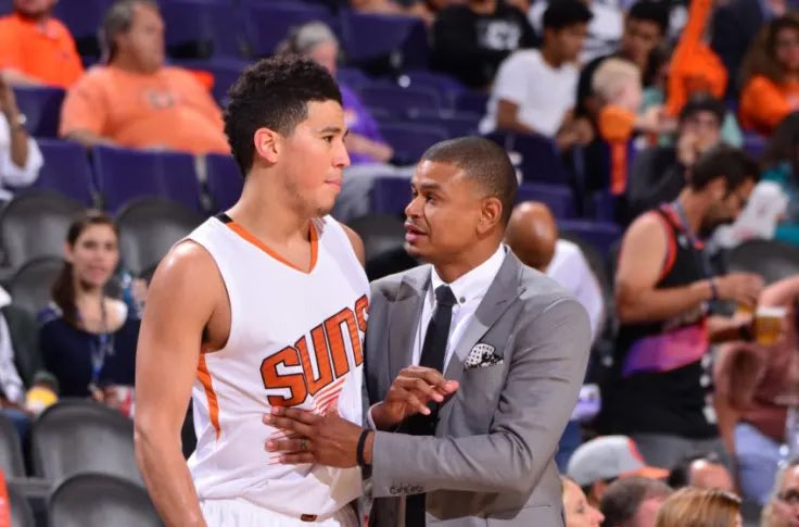 After being pursued by multiple teams, former Phoenix Suns head coach Earl Watson is finalizing a deal to join the Toronto Raptors coaching staff, league sources tell @YahooSports. Devin Booker credited Watson for his accelerated development. https://t.co/I1FQYpBkmr