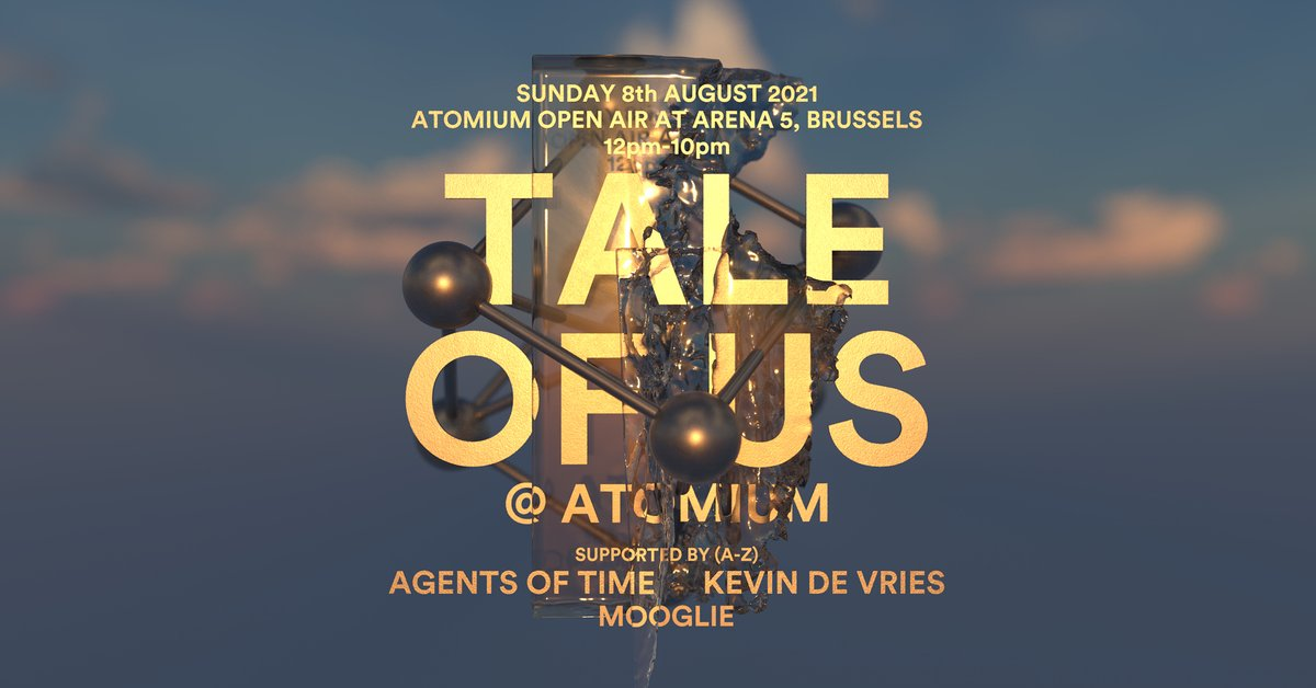 Brussels, August 8th bit.ly/TOU_Hangarbe
