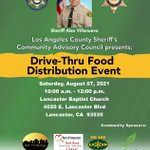 Image for the Tweet beginning: Los Angeles County Sheriff's Community