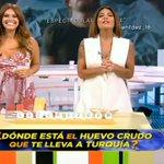 Image for the Tweet beginning: Cristina Plaza escotazo y Lorena